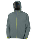Columbia Men's Jet Stratus Shell metal/chartreuse